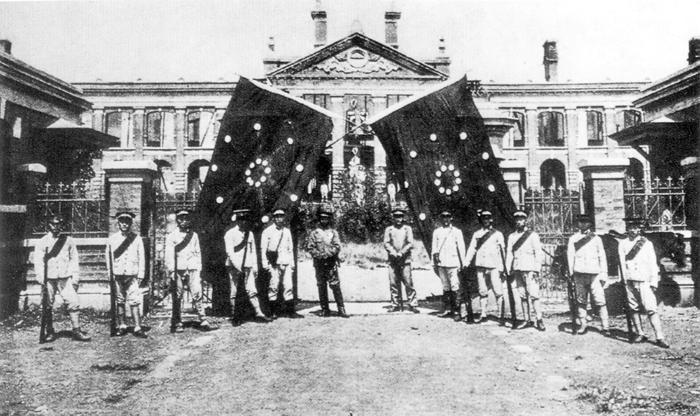 Khởi nghĩa Vũ Xương bắt đầu cuộc Cách Mạng Tân Hợi, 1911.