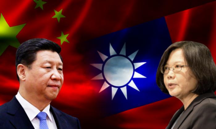 Chủ tịch Trung Quốc Tập Cận Bình và lãnh đạo Đài Loan Thái Anh Văn.