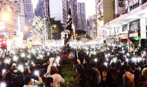 """Hơn 800 ngàn người Hồng Kông tuần hành chiều 8/12, hô vang """"Đấu tranh cho tự do"""""""