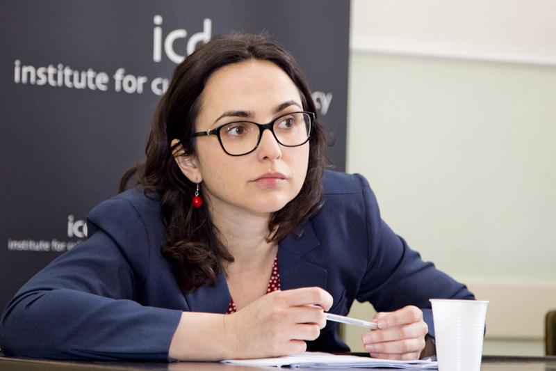 Nghị viên Lia Quartapelle, Chánh văn phòng Ủy ban Đối ngoại Dân chủ.