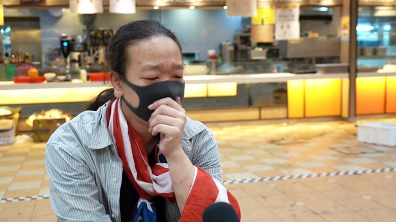 Thi Hán Hằng nhận thấy bản thân cũng phải có trách nhiệm nỗ lực để bảo vệ tương lai của Hồng Kông.
