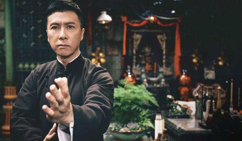 Nhân vật Diệp Vấn do nam diễn viên Chân Tử Đan thủ vai. (Ảnh: Sina)