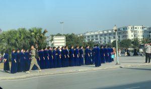 Quảng Ninh: Hơn 700 phụ nữ Trung Quốc tụ tập ở Hạ Long chụp ảnh