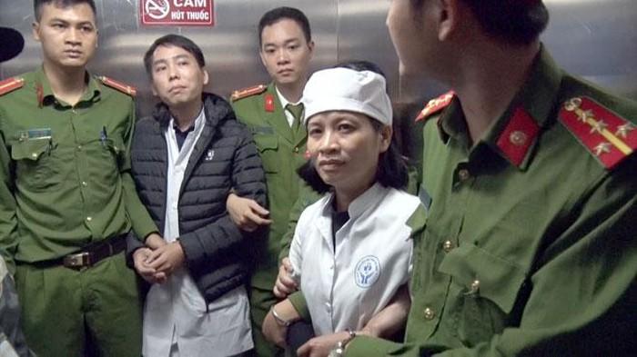 'Ăn bớt' thuốc của bệnh viện Nhi Nam Định, một nữ trưởng khoa bị bắt-ảnh 3