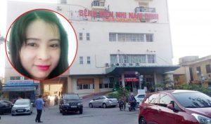 'Ăn bớt' thuốc của bệnh viện Nhi Nam Định, một nữ trưởng khoa bị bắt