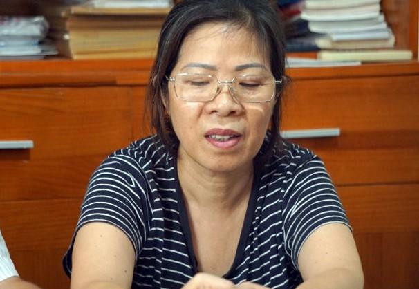 Bà Nguyễn Bích Quy, người đưa đón bé Long.