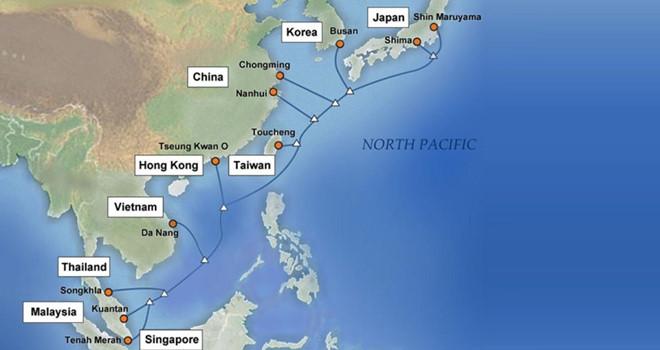 Ba tuyến cáp quang biển đi quốc tế gặp sự cố cùng lúc4