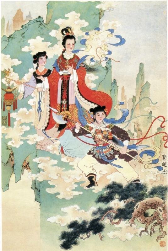 Bảo Liên Đăng truyền kỳ (P1): Thánh mẫu Hoa Sơn khuyến thiện giải nghiệp chướng