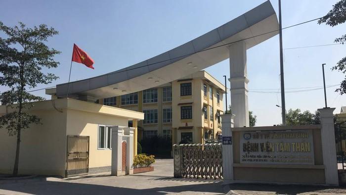 Bệnh viện Tâm thần tỉnh Thái Bình, nơi bà Linh điều trị. (Ảnh qua baogiaothong)