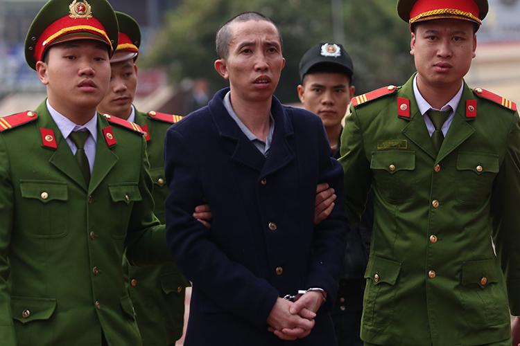 Bị cáo Bùi Văn Công. (Ảnh qua vnexpress)