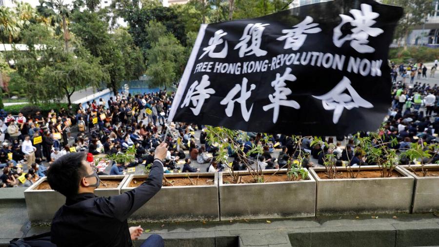 """Sinh viên Đại lục ủng hộ Hồng Kông: """"Chúng ta sẽ gặp nhau ở nơi không có bóng tối"""" (ảnh 3)"""