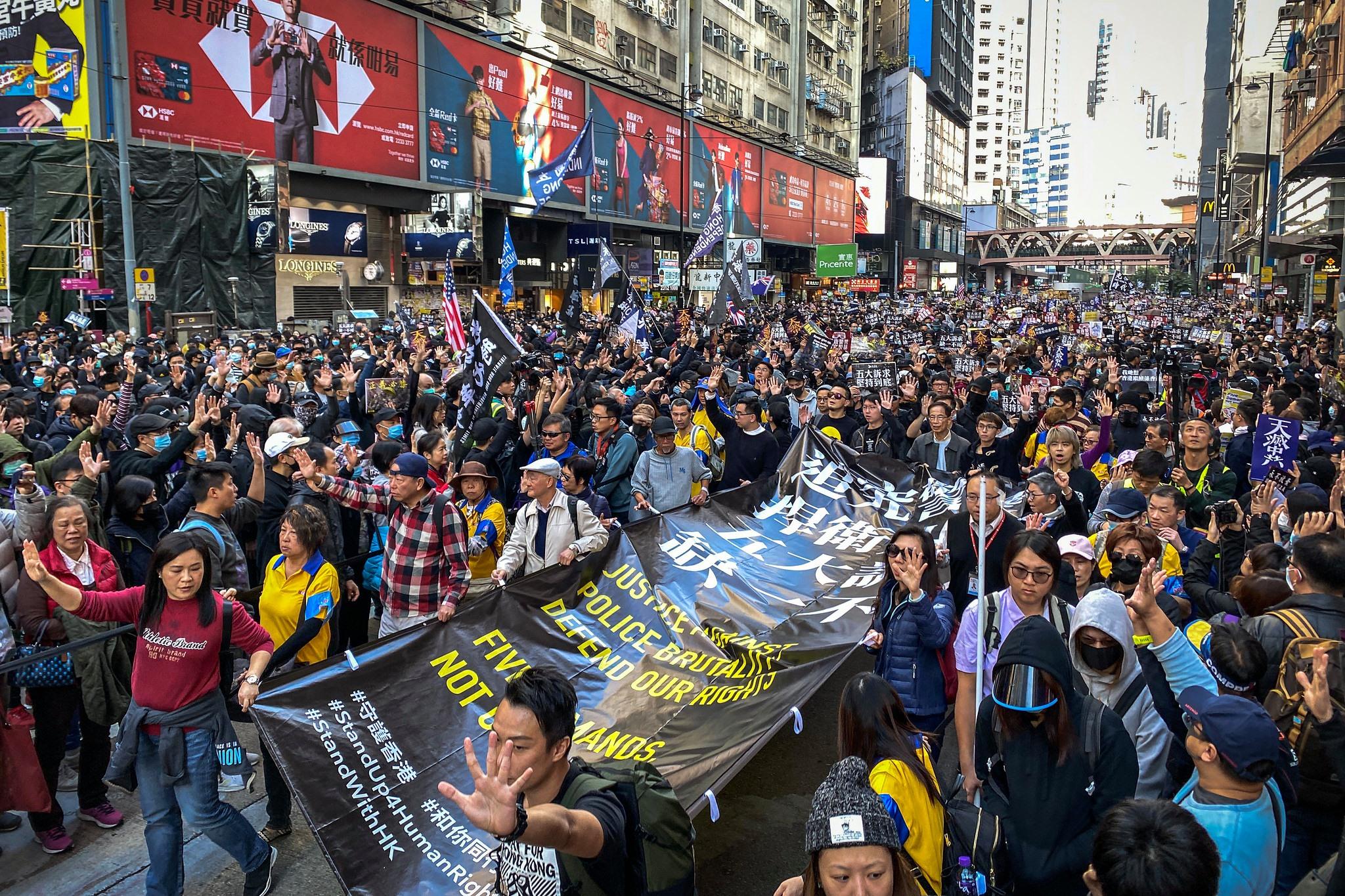 80 giáo viên và hơn 2.000 học sinh bị bắt vì liên quan đến phong trào phản đối dự luật dẫn độ (ảnh 3)