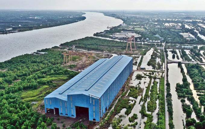 Bỏ hoang nhà máy đóng tàu với số vốn đầu tư hơn 1.000 tỉ đồng-ảnh 1