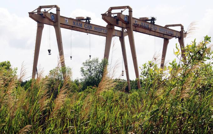 Bỏ hoang nhà máy đóng tàu với số vốn đầu tư hơn 1.000 tỉ đồng-ảnh 2