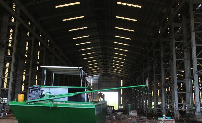 Bỏ hoang nhà máy đóng tàu với số vốn đầu tư hơn 1.000 tỉ đồng-ảnh 7