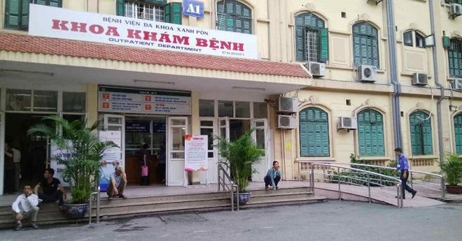 Bệnh viện Đa khoa Xanh Pôn, nơi xảy ra vụ việc. (Ảnh qua vtcnews)