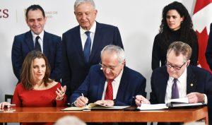 Mỹ, Mexico, Canada ký thỏa thuận thương mại USMCA, hạn chế sản phẩm từ Trung Quốc