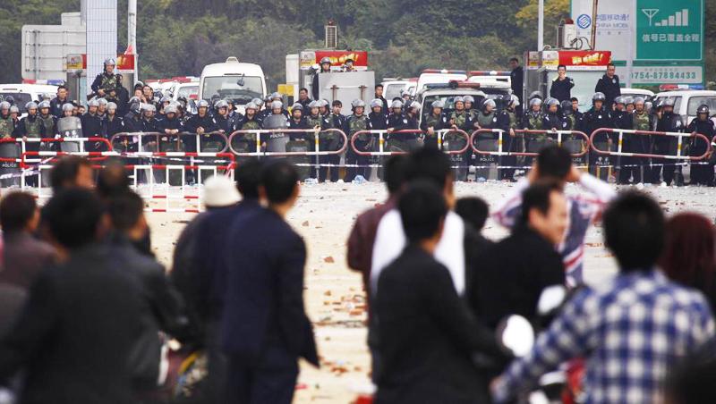 Xã hội Trung Quốc Đại lục ở bề mặt thì có vẻ ổn định, nhưng ẩn sâu trong đó là khủng hoảng xã hội đang tiềm tàng.