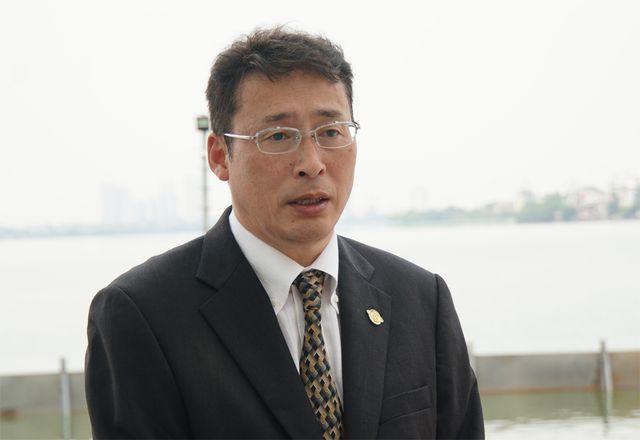 TS.Tadashi Yamamura - Chủ tịch Tổ chức Xúc tiến thương mại – Môi trường Nhật Bản.