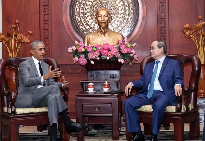 Trước đó vào năm 2016, ông Obama đã có chuyến công tác 3 ngày đến Việt Nam-ảnh 2