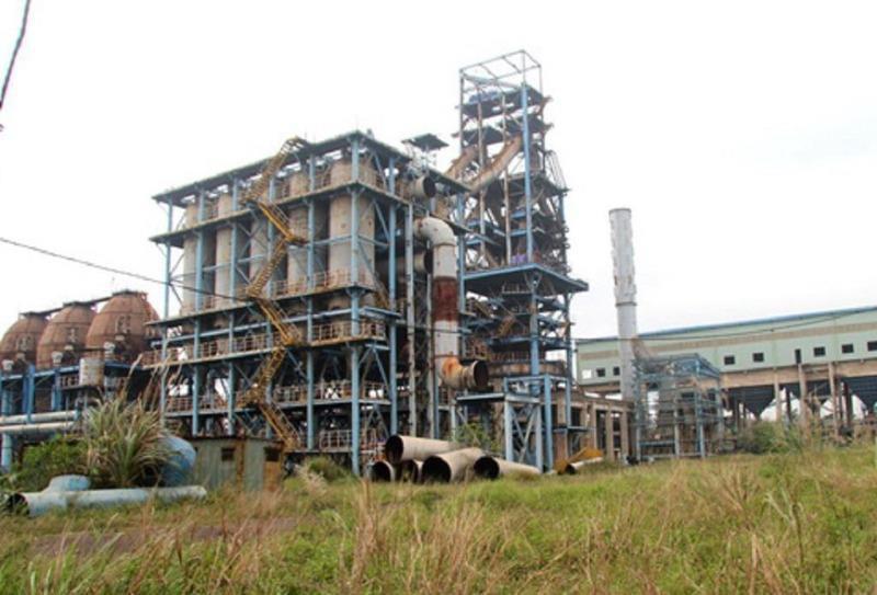 Đại dự án ngàn tỉ đến nay là đống sắt thép hoang tàn.