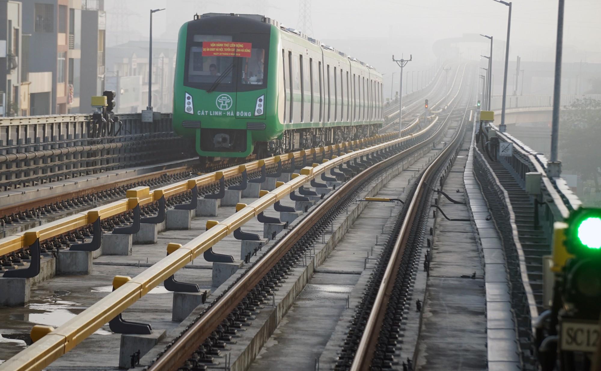 Thời gian dự kiến chuyển giao dự án đường sắt đô thị Cát Linh – Hà Đông vào cuối năm 2019 khó khả thi.