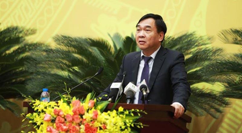 Giám đốc Sở Xây dựng Lê Văn Dục.
