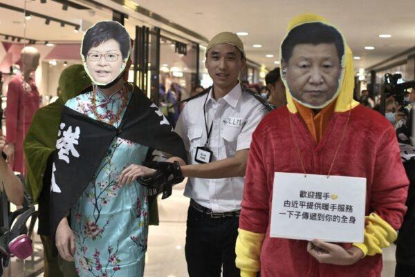 Đêm Giáng Sinh không bình an, cảnh sát Hồng Kông điên cuồng bắt người (ảnh 2)
