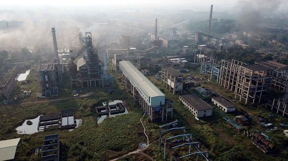 Toàn cảnh dự án mở rộng sản xuất giai đoạn 2 Công ty Gang thép Thái Nguyên. (Ảnh qua tuoitre)