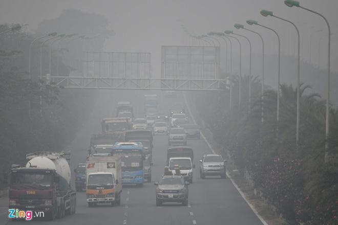 Giao thông là nguồn gây ô nhiễm lớn nhất.