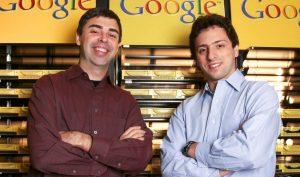 Hai nhà đồng sáng lập Google Sergey Brin và Larry Page từ chức tại Alphabet