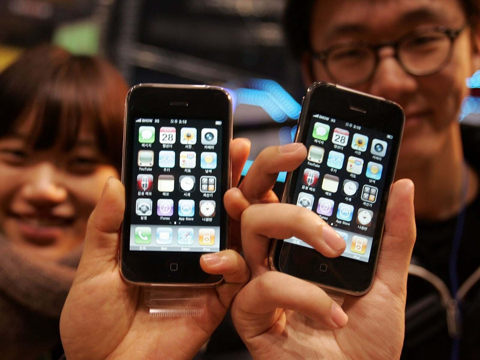 Hành trình 12 năm phát triển của iPhone - iPhone 3GS