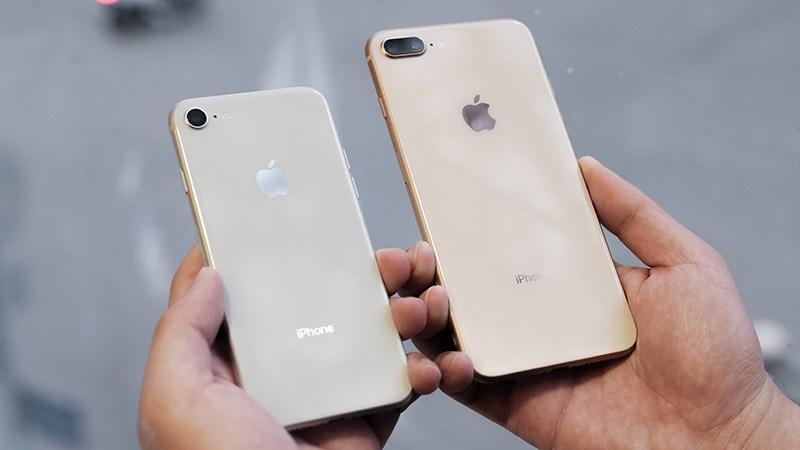 Hành trình 12 năm phát triển của iPhone - iPhone 8 và iPhone 8 Plus