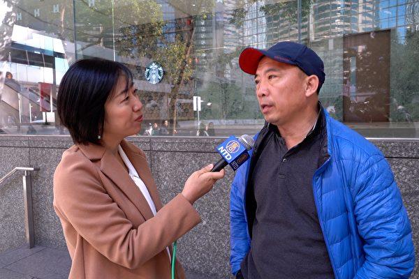 """Nghị viên Hội lập pháp Hồng Kông: """"Rất bội phục các học viên Pháp Luân Công"""" (ảnh 1)"""