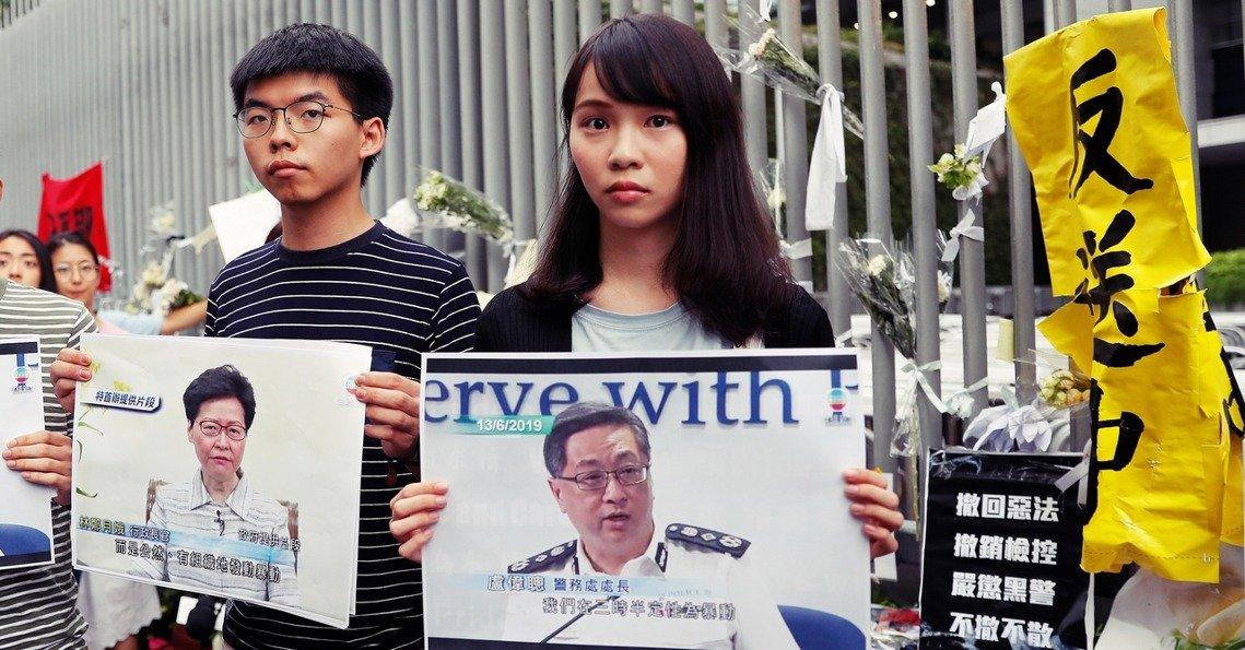 Người biểu tình HK đề xuất cho Mỹ danh sách trừng phạt 140 người, có 3 quan chức cấp cao của ĐCSTQ (ảnh 2)