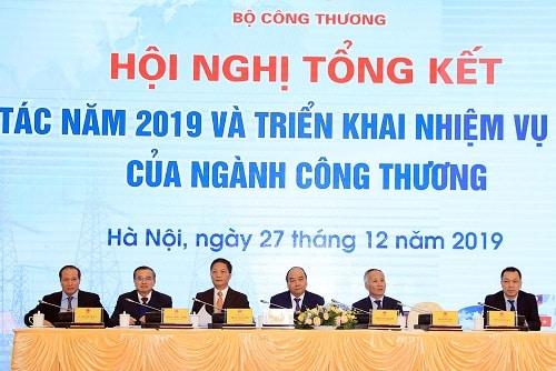 Thủ tướng tham dự Hội nghị tổng kết ngành công thương.