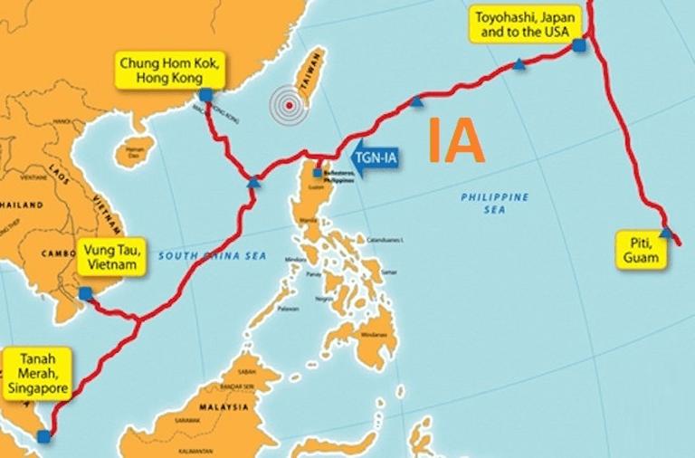 Ba tuyến cáp quang biển đi quốc tế gặp sự cố cùng lúc3