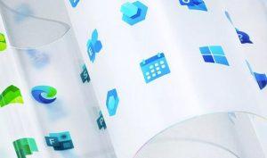 Microsoft vén màn thiết kế logo Windows mới cùng 100 biểu tượng khác