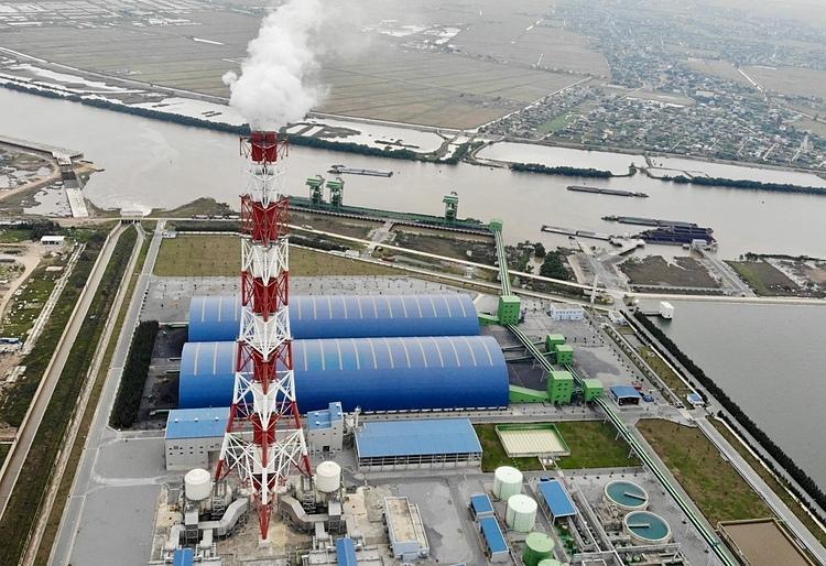 Nhà máy nhiệt điện than Thái Bình. (Ảnh qua vnexpress)