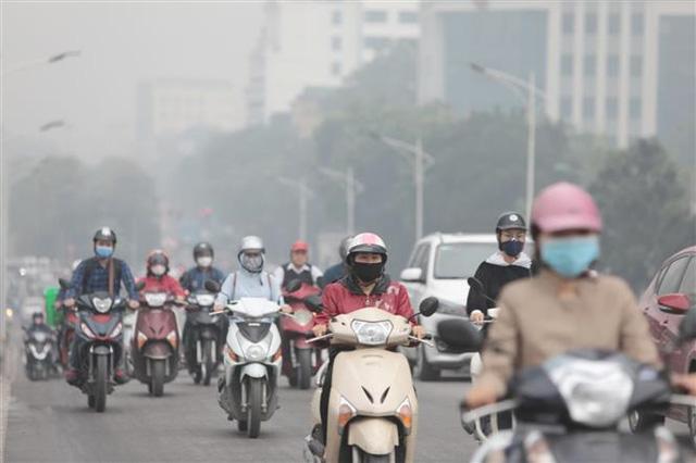 Ô nhiễm không khí ở Hà Nội đạt ngưỡng rất xấu-ảnh1