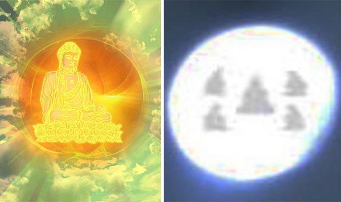 Phát hiện 5 hình tượng Phật trên hạt xá lợi khi nhìn dưới kính hiển vi - ảnh 1