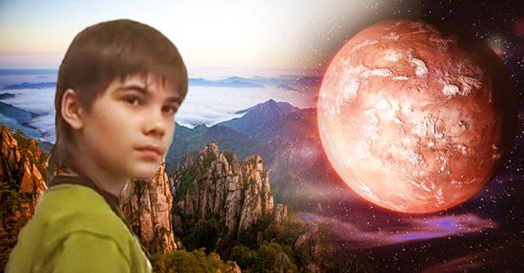 Cậu bé sao Hỏa tiên đoán về đại tai nạn năm 2020 và sứ mệnh của Trung Quốc