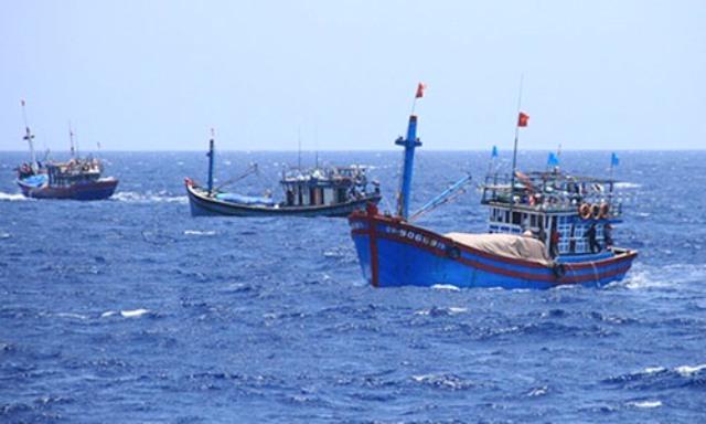 Tàu cá hoạt động trên vùng biển Việt Nam. (Ảnh qua kinhtedothi)