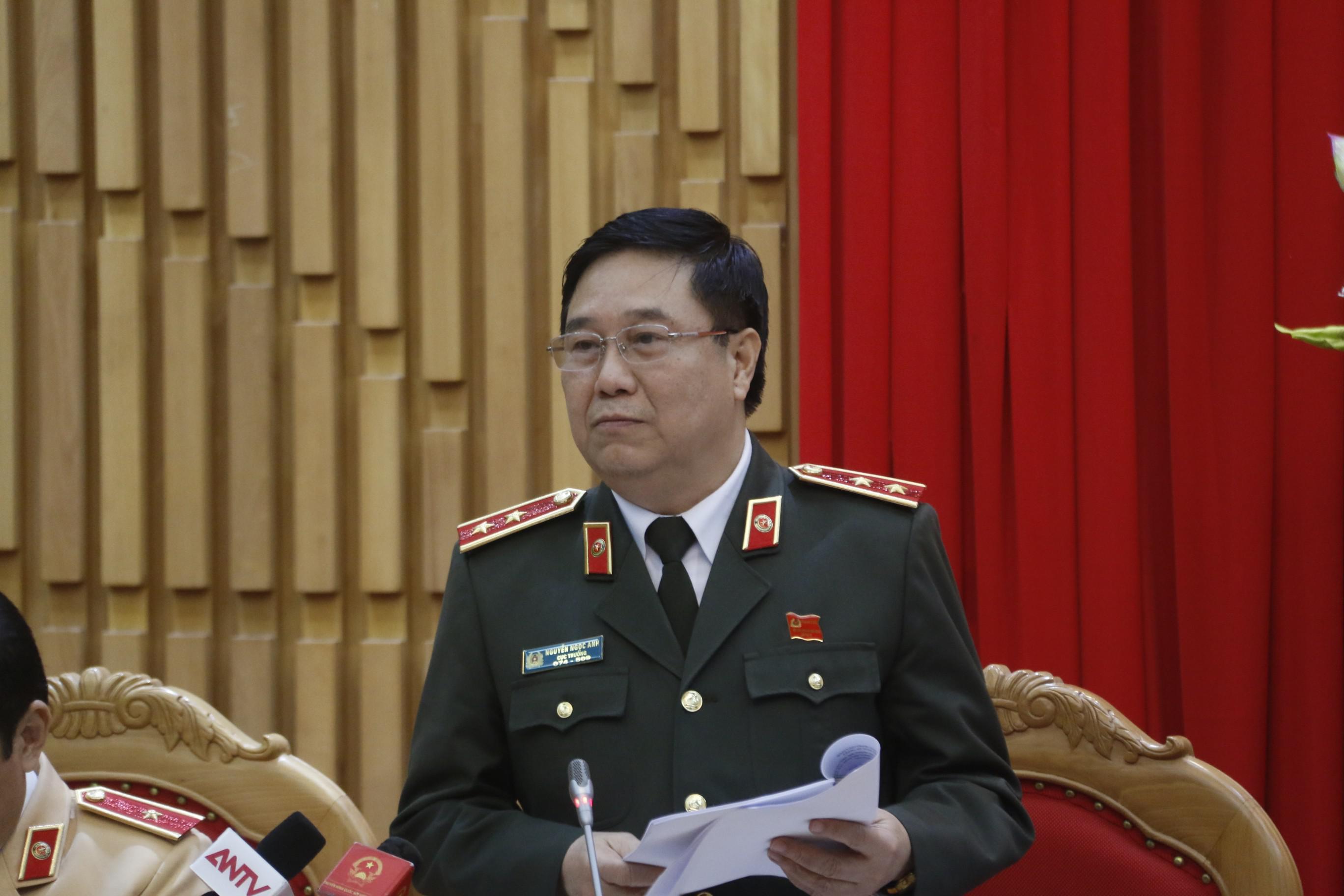 Trung tướng Nguyễn Ngọc Anh, Cục trưởng cục pháp chế và cải các hành chính, tư pháp (bộ Công an).