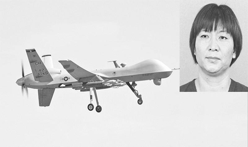 người phụ nữ gốc Hoa quốc tịch Mỹ Mãn Văn Hà (Wenxia Man) đã thu thập được ba bộ thông tin kỹ thuật liên quan tới động cơ tiên tiến như F135 và F119.