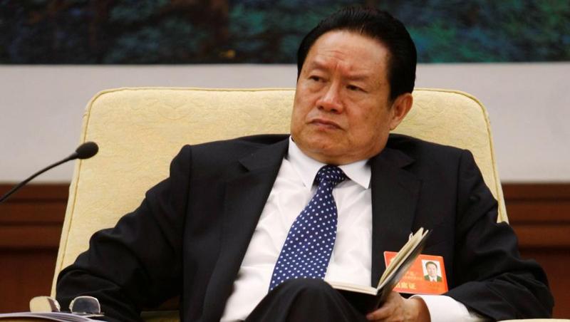 Cựu trùm an ninh Trung Quốc Chu Vĩnh Khang (Zhou Yongkang) tại đại hội 17 của đảng Cộng sản Trung Quốc, Bắc kinh, 16/10/007 Reuters