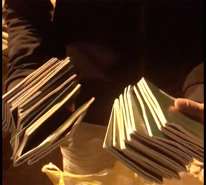 27 cuốn hộ chiếu được tìm thấy tại bãi rác Khánh Sơn trong đêm.