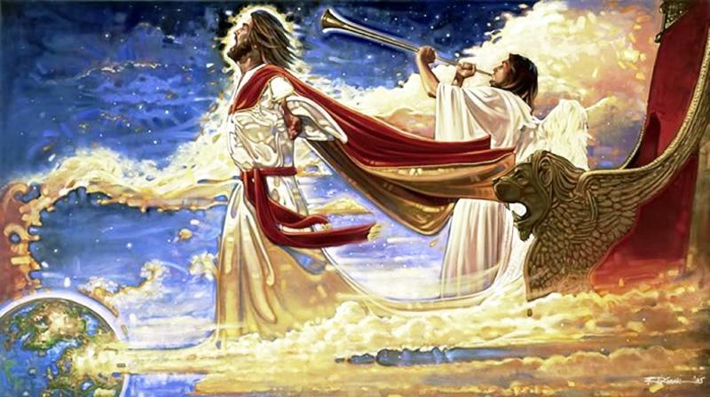 Khi các Thiên sứ thổi kèn, cũng là lúc nhân loại phải đón nhận những thảm họa.