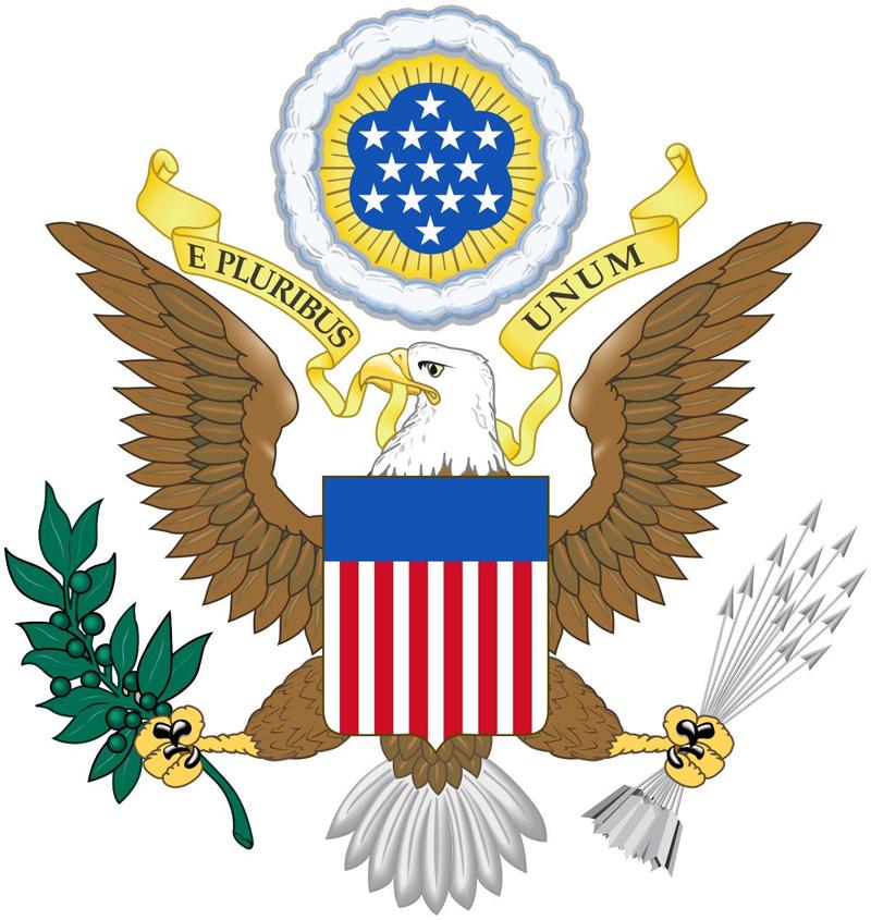 Quốc huy Hợp chúng quốc Hoa Kỳ.