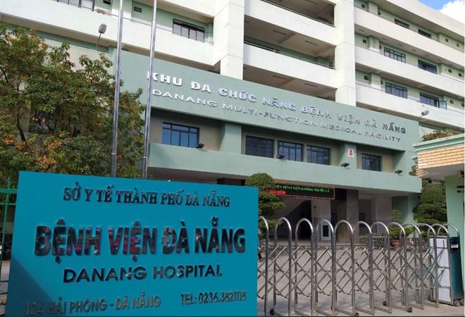 Bệnh viện Đà Nẵng, nơi điều trị cho 2 bệnh nhân người Trung Quốc. (Ảnh qua thanhnien)